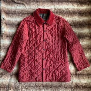 Barbour Eskdale Quilted Red Jacket